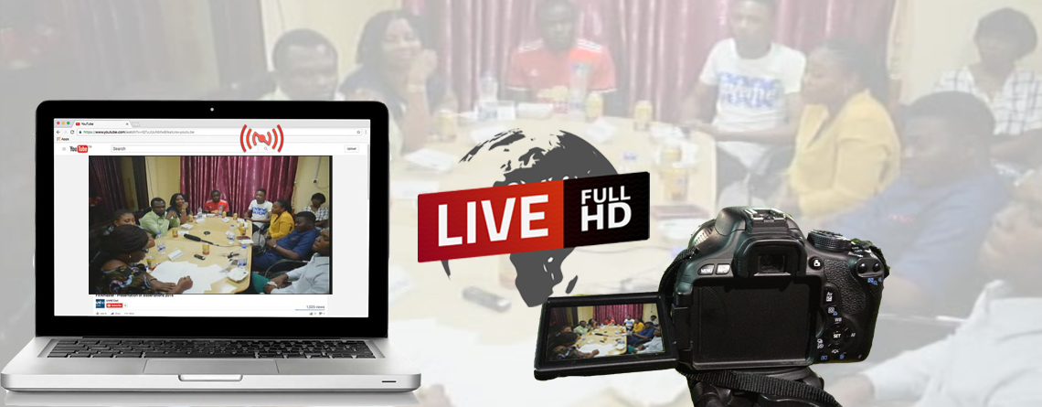 Enjoy Group Discussions From Your Comfort Zones Through Live Streaming